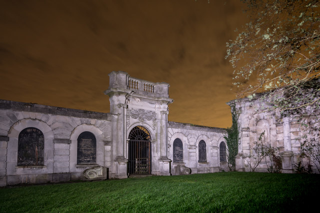 Copped Hall at Night