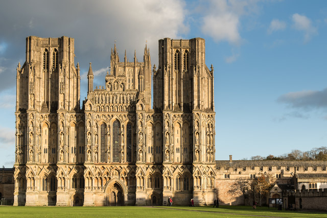 Wells Cathedral - West Front