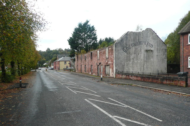 Derelict pub, Catrine