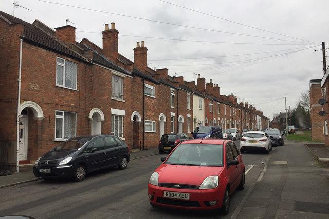 West side of Humphris Street, Emscote, Warwick