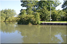 SP4710 : King's Lock Island by N Chadwick