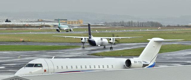 9H-YOU, Belfast City Airport (November 2017)