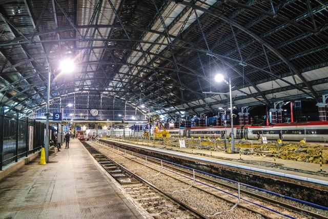 Liverpool Lime Street Platform 9