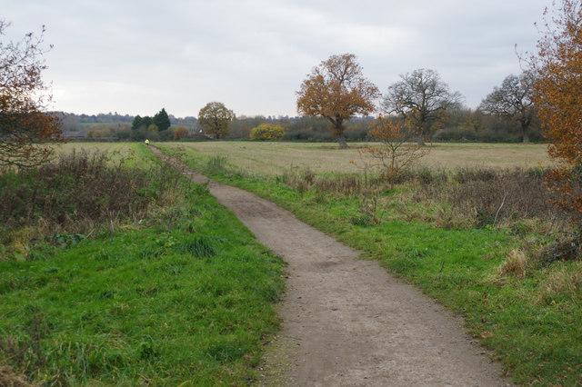 Bridleway towards Nutfield