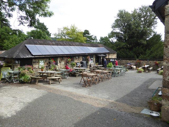 National Trust café at Parke