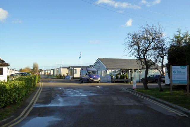 Entrance, Mersea Island Holiday Park