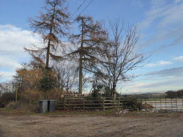 Newells Farm sign
