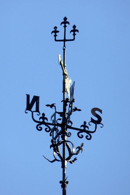 Weather vane, Lawford church