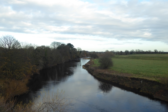 River Wharfe from Wharfe Bridge