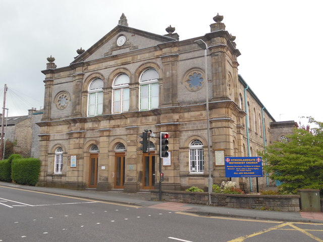 Stricklandgate Methodist Church, Kendal