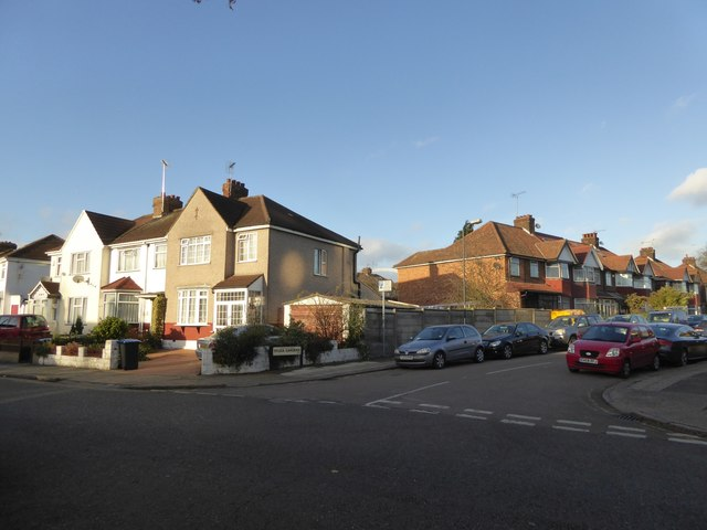 Junction of Sylvia Gardens and Tokyngton Avenue