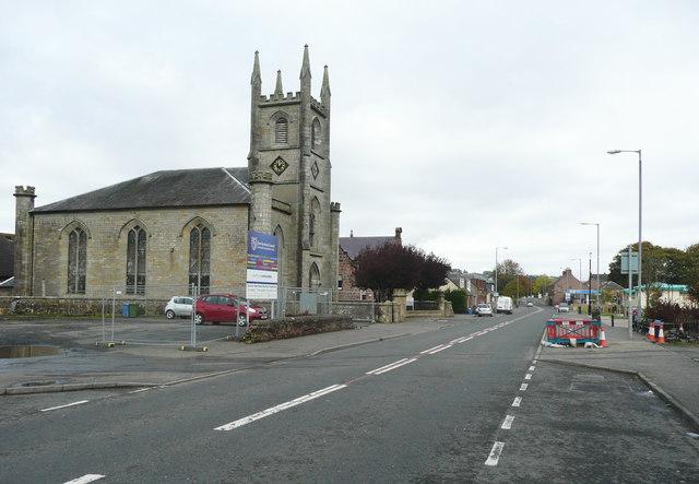 Church on the A76, New Cumnock