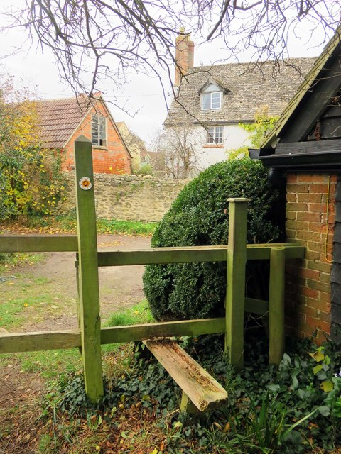 Stile on the footpath