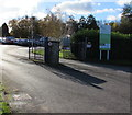 SO3808 : Entrance to Raglan Garden Centre by Jaggery
