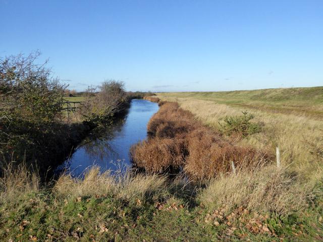 Borrow dyke,  East Mersea