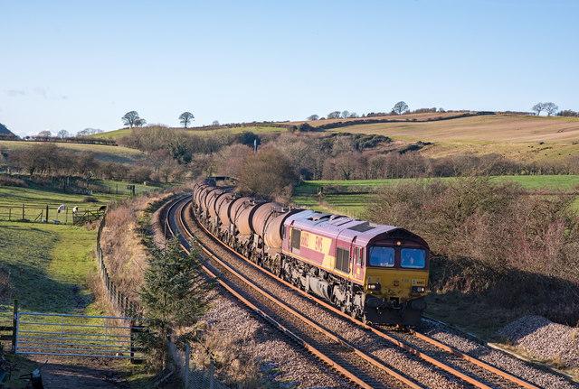 Trains at Bullgill, Cumbria - November 2017 (2)
