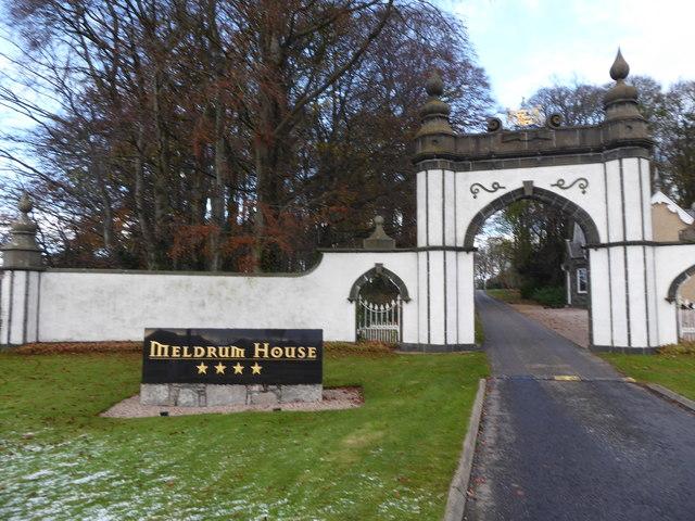 Meldrum House, 4-star hotel