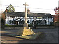 SU3432 : War Memorial at Houghton by M J Richardson
