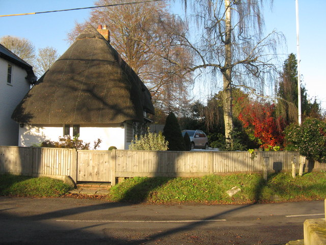 Thatched house at Houghton