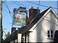 SU3432 : The Boot Inn pub sign by M J Richardson