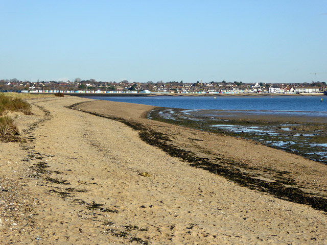 Beach, Mersea Stone