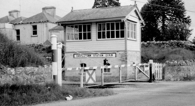 Castletown station signal cabin (May 1975)