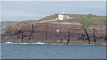 SM7204 : On MV Inishmore - Passing Skokholm Lighthouse by Colin Park