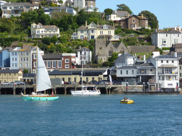 Kingswear Station from Dartmouth