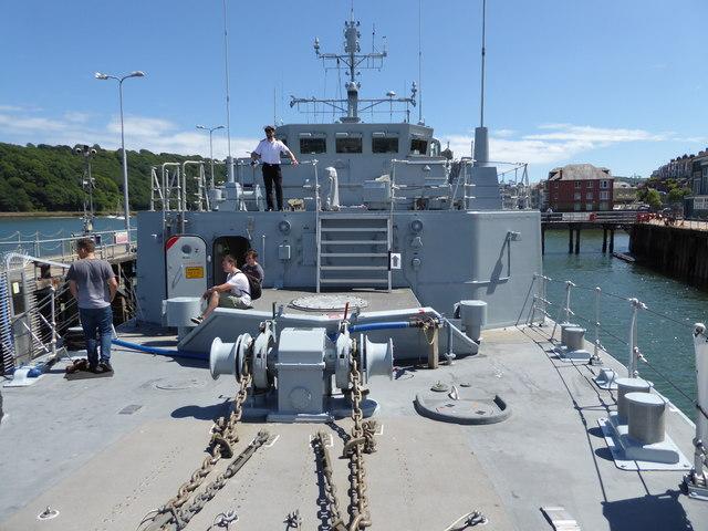 HMS Hindustan - Britannia Royal Naval College