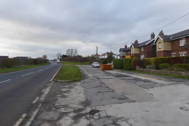 Houses beside the A659