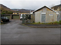 SS9497 : Celtic Coffins, Oak Street, Treherbert by Jaggery