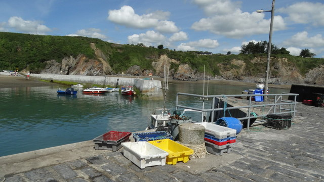 Dunabrattin (Boatstrand) Harbour - Co Waterford