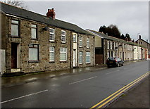 SS9497 : Two rows of houses, Baglan Street, Treherbert by Jaggery
