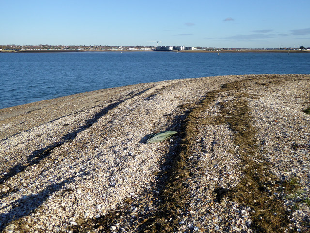 The tip of Mersea Stone