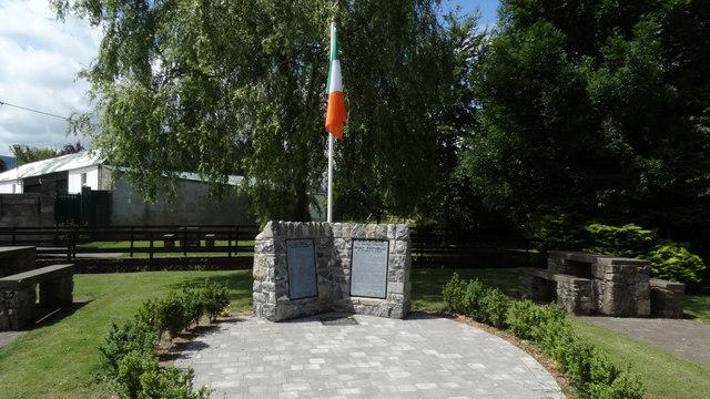 Newcastle, Co Tipperary - Irish Republic commemoration stone