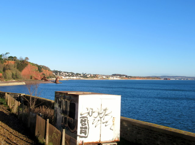 Looking Towards Horse Cove Devon