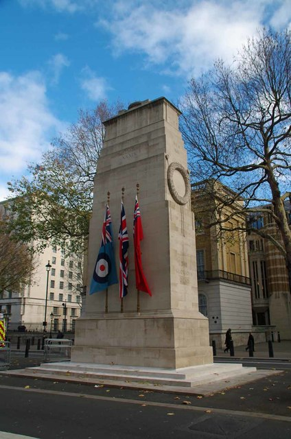 The Cenotaph and One Small Cross