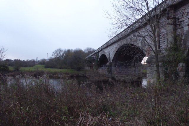Viaduct and Wharfe