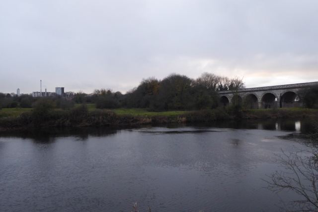 River Wharfe and Tadcaster Viaduct