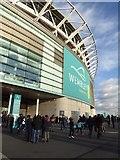 TQ1985 : Wembley Stadium by Philip Halling
