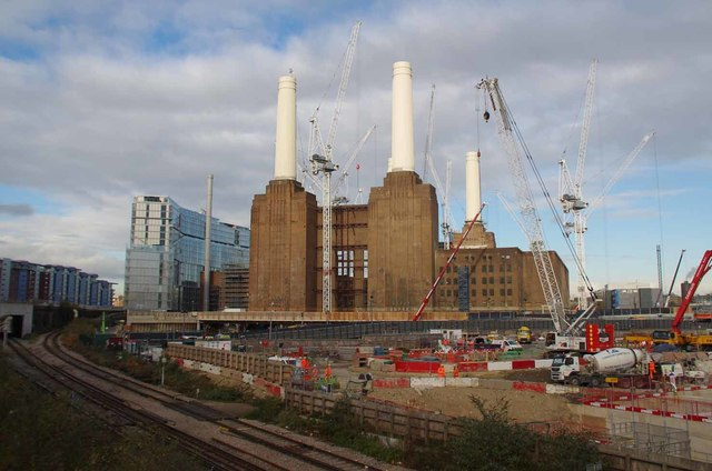 All Change at Battersea Power Station