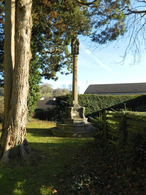 Churchyard cross, Miskin