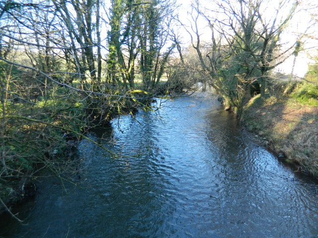 River Ely, Miskin, looking north