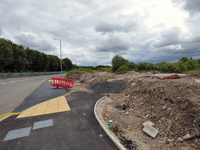 Development land off Denton Link Road