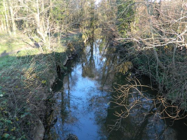 The Afon Clun, Pontyclun