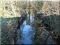ST0381 : The Afon Clun, Pontyclun by John Lord
