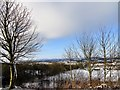 NZ1051 : Snow covered view by Robert Graham