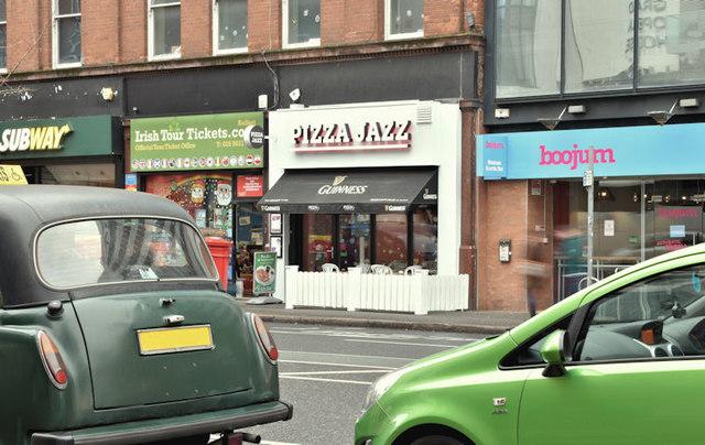 """""""Pizza Jazz"""", Belfast (December 2017)"""