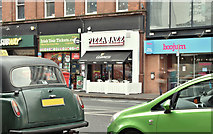 "J3373 : ""Pizza Jazz"", Belfast (December 2017) by Albert Bridge"