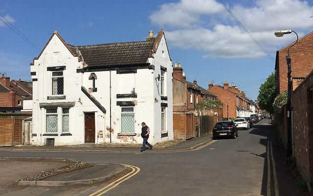 East on Gordon Street, Royal Leamington Spa